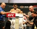 Com dificuldades para bater peso, Barão quer subir de categoria no UFC
