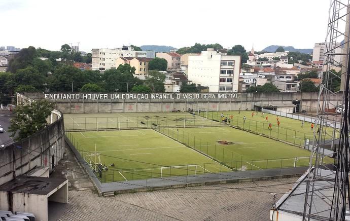 Campos anexos do Vasco em São Januário (Foto: Raphael Zarko)