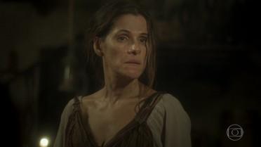 Elvira diz que Joaquim sumiu com Quinzinho