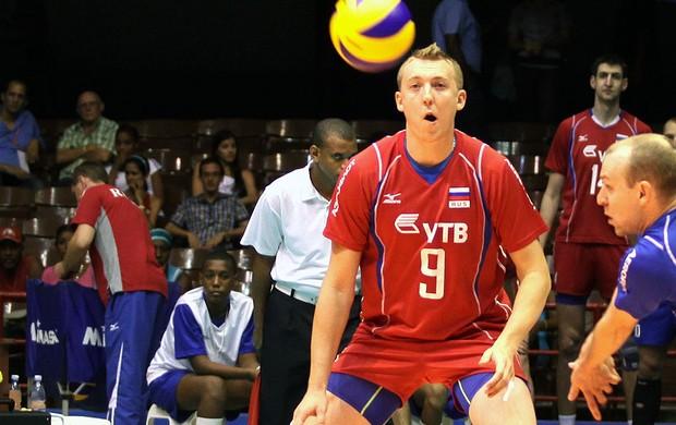 Spiridonov jogo vôlei Russia (Foto: Divulgação / FIVB)