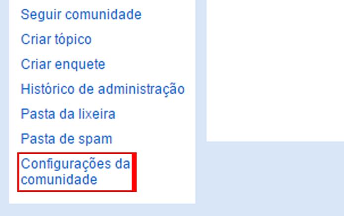 Comunidades podem ser excluídas do arquivo público do Orkut (foto: Reprodução/Orkut)
