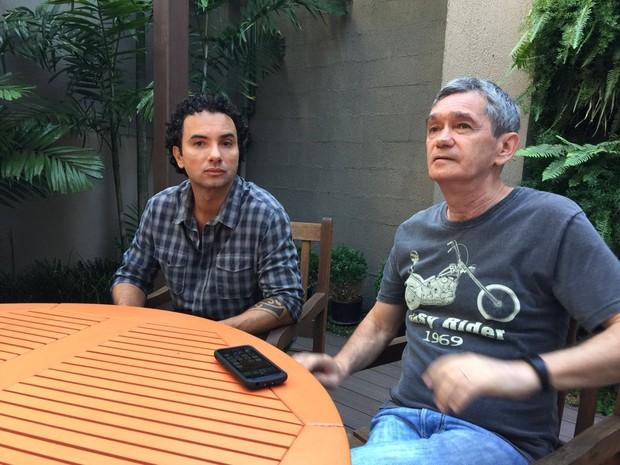 Marco Luque e Serginho Groisman (Foto: EGO)
