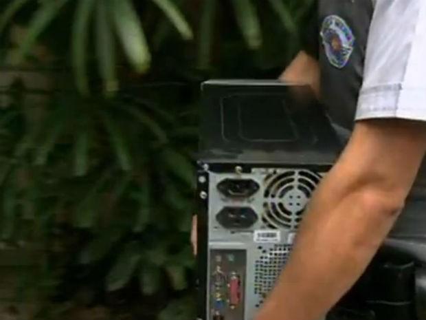 Operação de PM e Gaeco contra tráfico de drogas na região de Sorocaba (Foto: Reprodução/TV Tem)