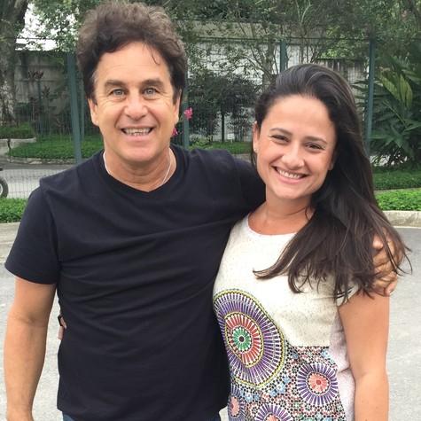Marcos Frota e Mariana Constantini (Foto: Divulgação)