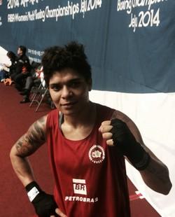 Adriana Araújo Mundial de boxe (Foto: Guilherme Costa)