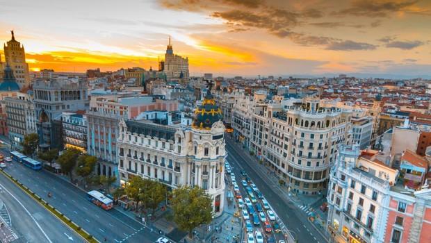 Madri na Espanha (Foto: Shutterstock)