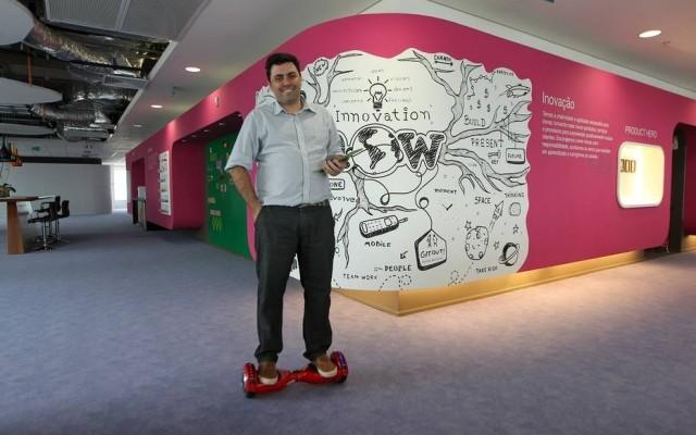 Flavio Stecca é o presidente executivo do PlayKids, plataforma para crianças (Foto: Sergio Castro / Estadão)