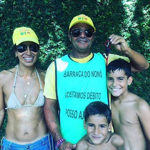 Cauã Reymond posta foto de seu Nonô em suas redes sociais (Foto: Facebook/Reprodução)