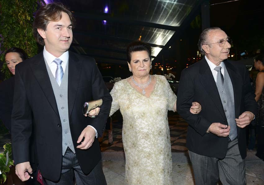 Joesley, Flora e José Batista (Foto: Cleiby Trevisan/ Revista QUEM)