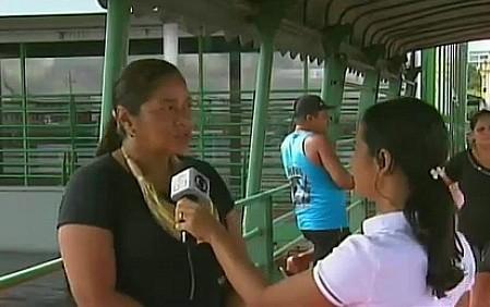 Governo cadastra famílias vítimas da enchente no AM (Foto: Amazônia TV)