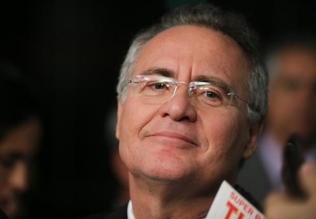O líder do PMDB no Senado, Renan Calheiros (PMDB-AL) (Foto: Fabio Rodrigues Pozzebom/Agência Brasil)