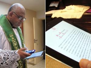 Padre Jorjão faz sucesso em igreja em Ipanema, na Zona Sul (Foto: Tássia Thum/G1)