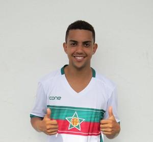 Erick Brendon, reforço da Portuguesa-RJ (Foto: Divulgação)