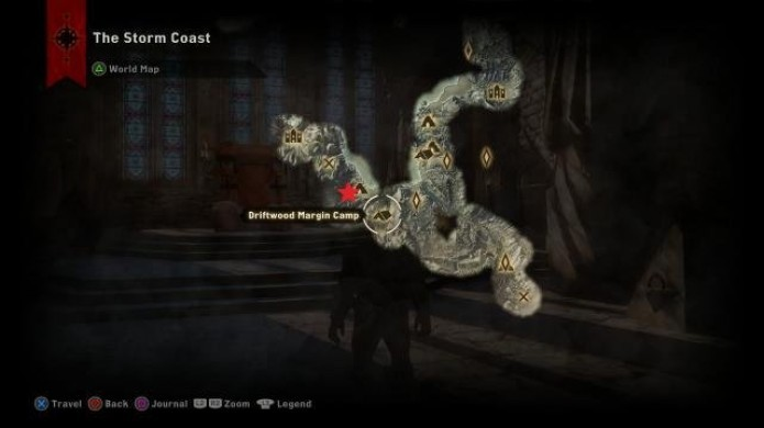 Localização do sexto dragão em Dragon Age Inquisition (Foto: Reprodução/iDigital Times)