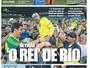 """Jornal catalão destaca """"Neymarmania"""" e exalta astro do Barça: """"O Rei do Rio"""""""