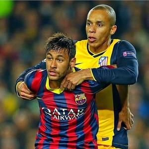 Miranda publica foto marcando Neymar (Foto: Instagram)