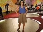 Fátima Bernardes investe no estilo lady like para começar a semana