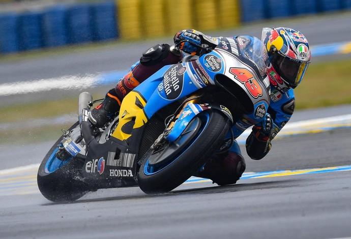 Miller desbancou a concorrência e liderou no piso molhado (Foto: Reprodução/Twitter)
