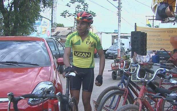 Reportagem conversou com pessoas que usam a atividade como esporte. (Foto: Acre TV)