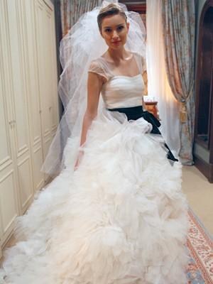 Analú de noiva fashion (Foto: Guerra dos Sexos / TV Globo)