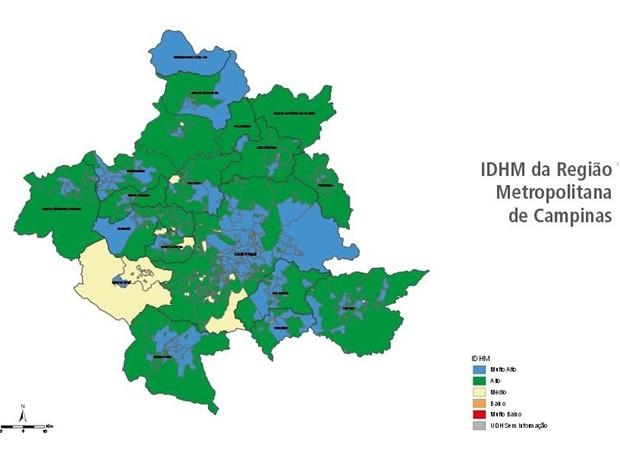 Dados do Atlas do Desenvolvimento Humano nas Regiões Metropolitanas Brasileiras (Foto: Divulgação/ Atlas do Desenvolvimento Humano nas Regiões Metropolitanas Brasileiras)
