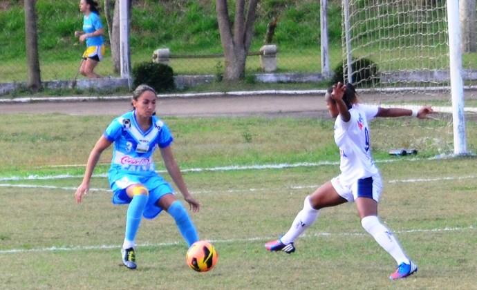 São José Foz do Iguaçu Campeonato Brasileiro de Futebol Feminino (Foto: Danilo Sardinha)