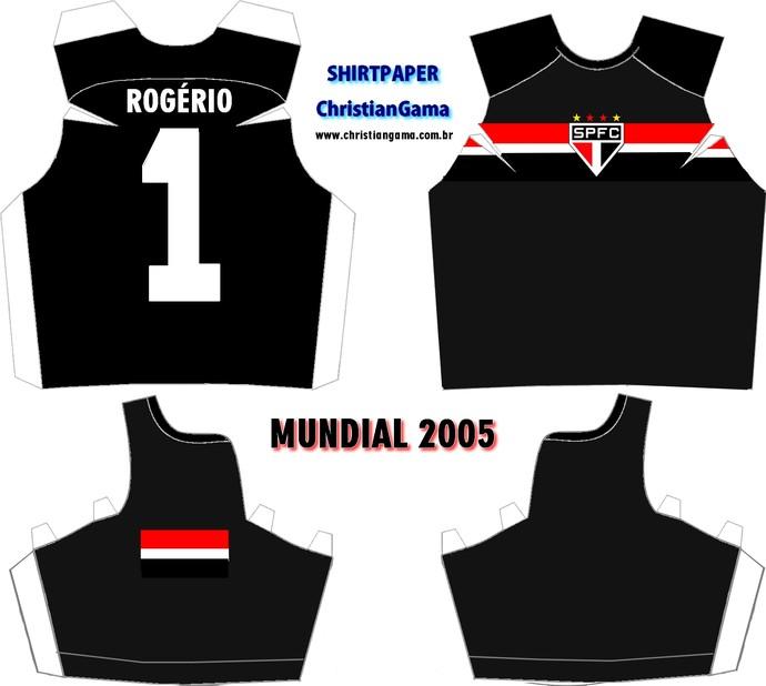 (NÃO USAR) Camisa Rogério Ceni Mundial 2005 (Foto: GloboEsporte.com)