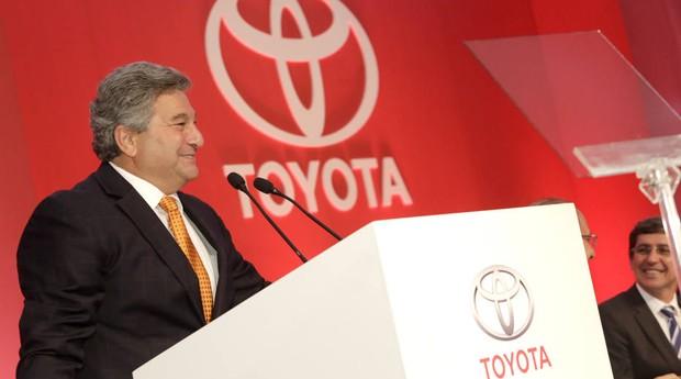 Steve St. Angelo, presidente regional da Toyota (Foto: Divulgação)