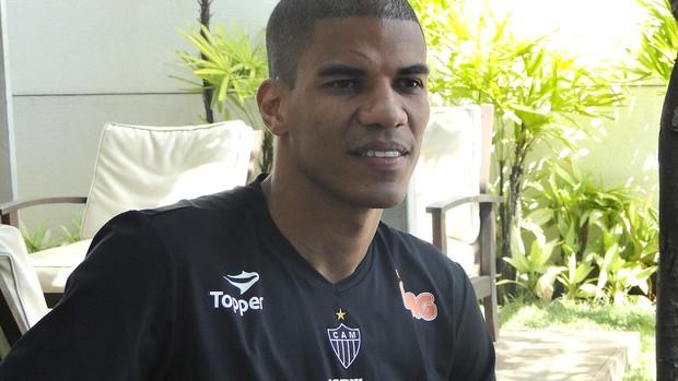 Leonardo Silva, zagueiro do Atlético-MG (Foto: Léo Simonini / Globoesporte.com)