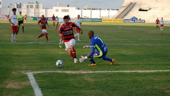 Campinense x Náutico, Amigão (Foto: Silas Batista / GloboEsporte.com)
