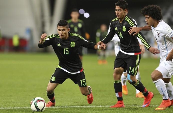 México 2 x 1 Uruguai Mundial sub-20 (Foto: EFE)