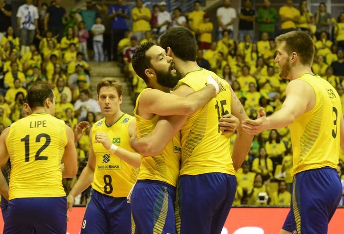 vôlei Brasil x Austrália Liga Mundial (Foto: Alexandre Arruda / CBV)