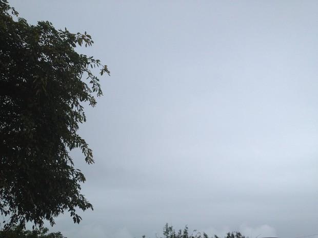 Pode chover neste fim de semana o equivalente ao esperado para o mês de junho (Foto: Joana Caldas/G1)
