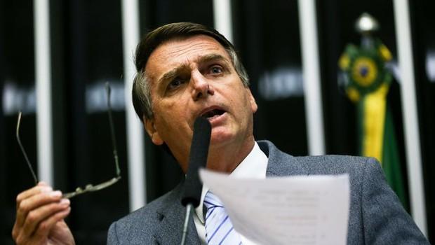 O deputado Jair Bolsonaro (PSC) (Foto: Marcelo Camargo/Agência Brasil)