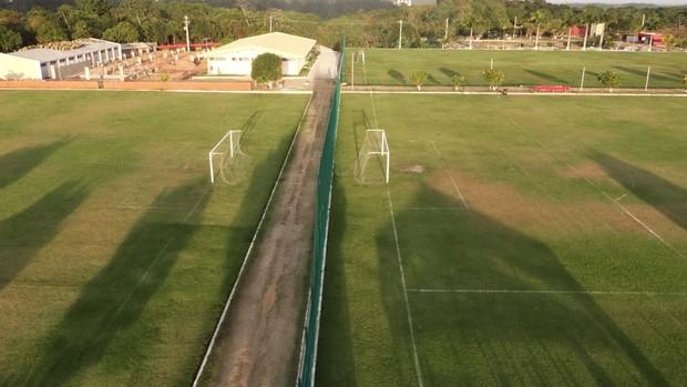 CT do Sport deve ficar todo pronto no fim de 2013 (Foto: Daniel Santana/Globoesporte.com)