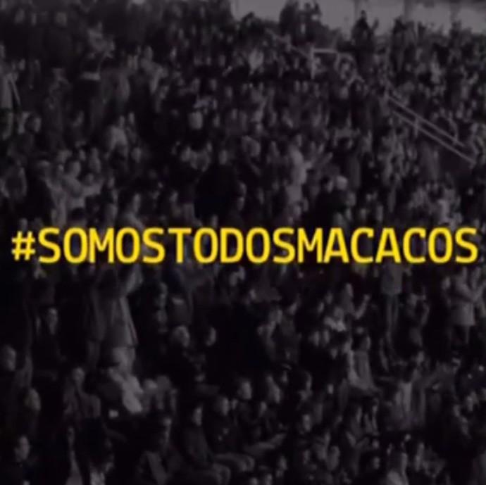 Campanha Somos Todos Macacos, Daniel Alves, Racismo