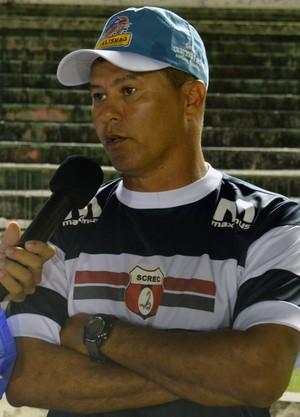 Ramiro Sousa, Técnico do Santa Cruz-PB, Santa Cruz-PB, 2ª divisão do Campeonato Paraibano, Queimadense (Foto: Richardson Gray / Globoesporte.com/pb)