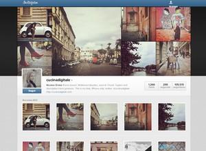 Novo perfil do Instagram já está disponível para alguns usuários (Foto: Reprodução)