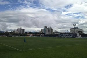 Estádio Renato Silveira, em Palhoça (Foto: Giovanni Silva (C.A Metropolitano))