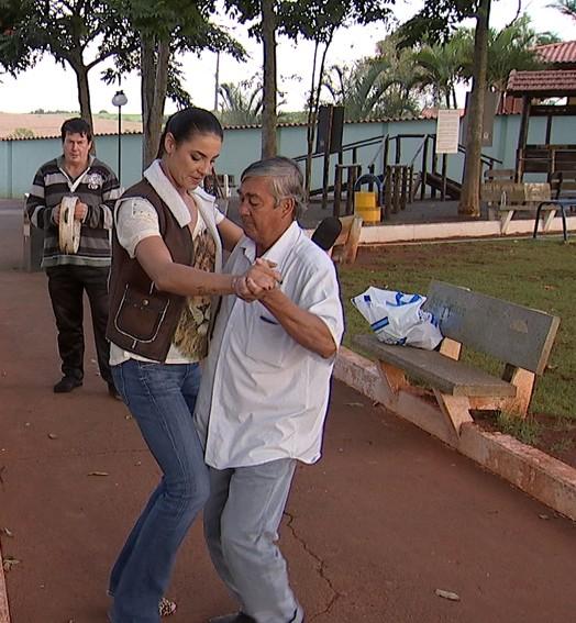 samba caipira (Reprodução/Rede Globo)