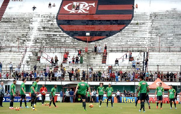 treino seleção jogadores Gávea (Foto: André Durão / Globoesporte.com)