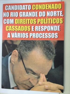 Dossiê com denúncias contra o deputado Henrique Eduardo Alves (PMDB-RN) foi distribuído aos gabinetes dos parlamentares (Foto: Nathalia Passarinho / G1)