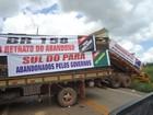 Após dois dias de interdição da pista, manifestantes liberam BR-158, no PA