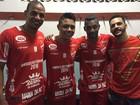 Sertanejos participam de jogo beneficente em Aparecida de Goiânia