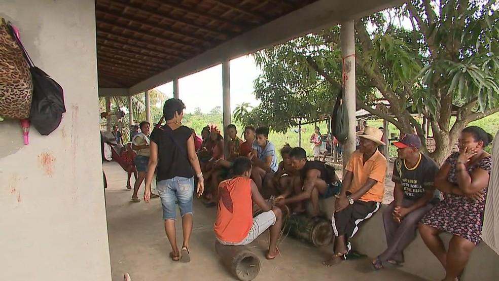 OAB, Pastoral da Terra e Secretaria de Direitos Humanos foram até o interior do Maranhão (Foto: Reprodução TV Mirante)
