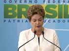 Dilma fecha evento que seria aberto (Reprodução)