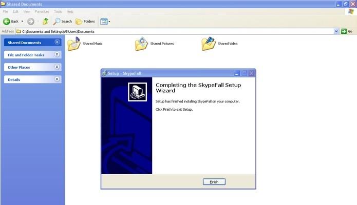 Skypefall é trojan que exibe instalador aparentemente autêntico (Foto: Reprodução/Secure List)