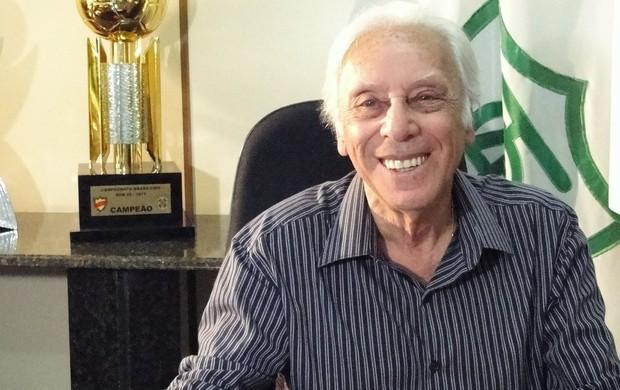 Afonso Celso Raso, presidente do América-MGa (Foto: Ana Paula Moreira / Globoesporte.com)