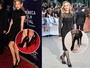 Madonna, Gwyneth Paltrow e outras esquecem etiquetas nos sapatos