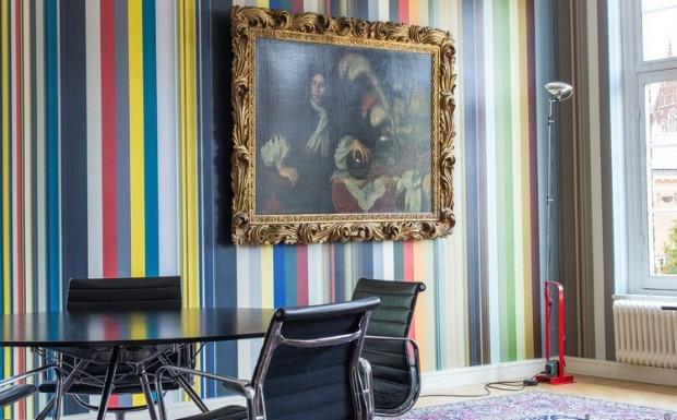 Designer captura DNA de cores de pinturas para criar papis de parede (Foto: Divulgao / Droog)